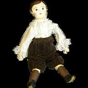 Izannah walker boy doll by Judi Hunziker