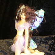 SOLD Polymer clay Fairy/faerie OOAK