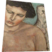 SALE Stunning  original Angel painting