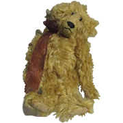 Awesome distressed  mohair  bear by Boassy