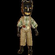 Primitve Halloween Cat boy