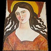 Amazing Angel painting on canvas