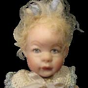 Darling bisque miniature bisque doll