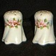 Pair of Nippon Salt & Pepper Shakers- Hand Painted