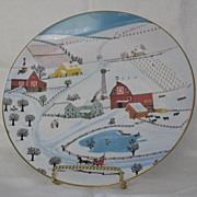 """Royal Doulton """"Sleigh Bells"""" First Issue In Series"""