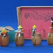 Rag Time Band Figurines In Original Box