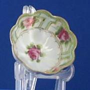 SOLD Noritake Hand Painted Porcelain Master Salt
