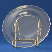 Fostoria Century Pattern Salad Plate