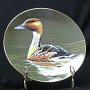 "W. S. George Collector Plate Titled, ""Fulvous Whistling Duck"""