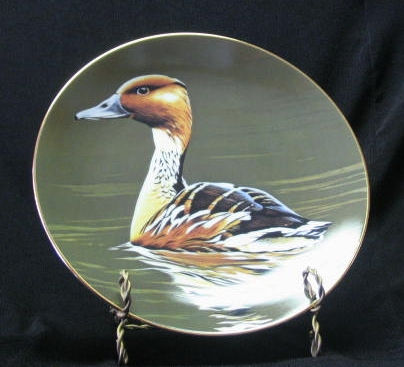 """W. S. George Collector Plate Titled, """"Fulvous Whistling Duck"""""""
