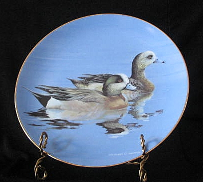 """W. S. George Collector Plate Titled """"Widgeons"""""""