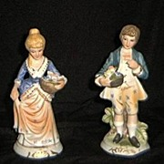 SALE Royal Coronet French Style Figurines-Dan Brechner
