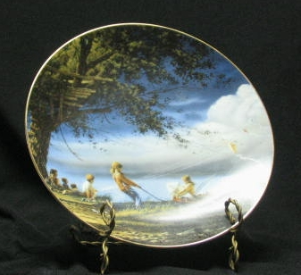 """Terry Redlin Collector Plate Titled """"Forever Spring"""""""