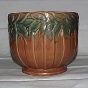 Unmarked McCoy Pottery Laurel Decorated Jardiniere