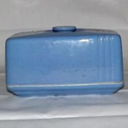 """Hall China """"Phoenix"""" Pattern Butter Dish For Westinghouse"""
