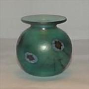 Herb A. Thomas Art Glass Vase