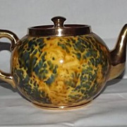 SOLD Gibson Teapot With Gold Accents