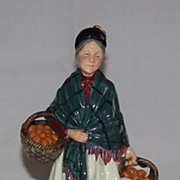 "Royal Doulton Figurine ""The Orange Lady"" HN 1953"