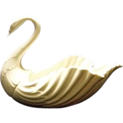 SOLD Lenox Swan Centerpiece Bowl