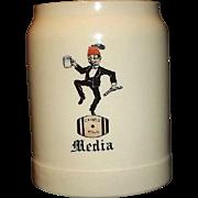 """Shriner's Mug """"Media"""" Dated 1906"""