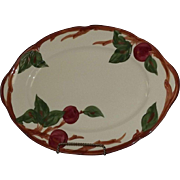 "Franciscan ""Apple"" Pattern Platter"