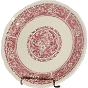 "Set Of Six Syracuse China ""Strawberry Hill"" Luncheon Plates"