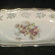 SALE Silesia Porcelain Celery Dish