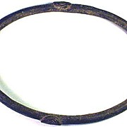 RARE TYPE African Bronze Slave Trade Bracelet, c.1750!