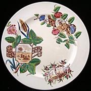 SALE Aesthetic Transfer Plate ~ Harvest Maiden 1887