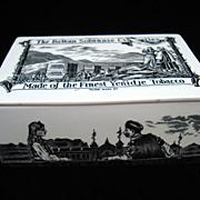 SALE Rare Ceramic Sobranie TOBACCO Box ~ 1880