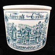 SALE Rare Ceramic Navrati Extra Tobacco Box