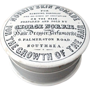 SALE Rare Pomade Quack Cosmetic Pot ~ 1890