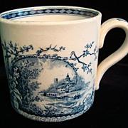 SALE Antique Aesthetic Movement Mug ~ Raspberries 1886