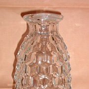Fostoria American Pattern Catsup (Ketchup) Bottle without Stopper