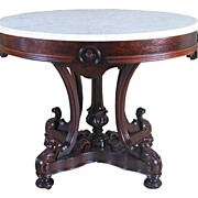 Outstanding Rosewood Rococo Center Table