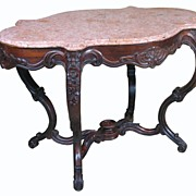 Rococo Rosewood Center Table, Ainsworth Antiques