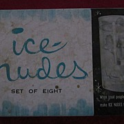 Ice Nudes, 1960's Girlie Ice Cube Trays