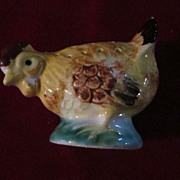 Ceramic Chicken Perforated Toothpick Holder