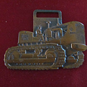Allis Chalmers HD 21 Diesel Tractor Copper Watch FOB