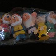 SOLD Disney Seven Dwarfs, Vinyl, Original Package, China