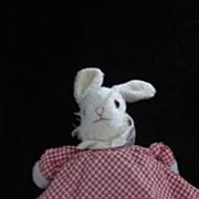 Rabbit/Bear Vintage Topsy Turvy Plush Doll