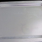 Kensington Aluminum Serving Tray for Moore-McCormack Lines