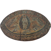 Wooden Plaque, Copy Of Transfiguration of Christ from St Catherine's Monastery at Sinai