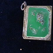 WWII Sweetheart Locket with Two Photos