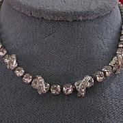 Eisenberg Crystal Rhinestone Adjustable Length Necklace