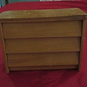 Mini Wooden Dresser Advertisement for Butler's Furniture