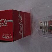 1992 Enesco Coca Cola Ornament, The Cold, Crisp Taste of Coke