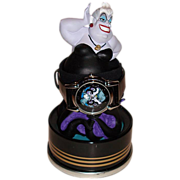 "SOLD 1998 Fossil ""Ursula"" Villains Watch and Display Figurine"