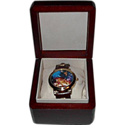 "SOLD 1998 Fossil ""Mickey Mouse"" 75th Anniversary Limited Edition Watch"