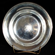 """Sterling bowl 5"""" by S. Kirk"""